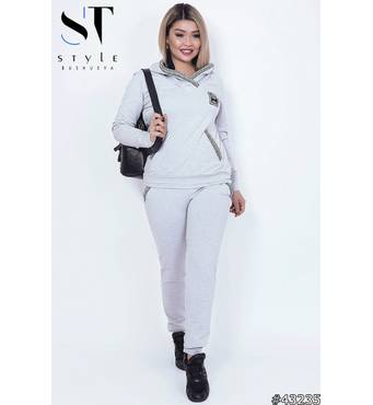 Спортивный костюм 43235 (серый)