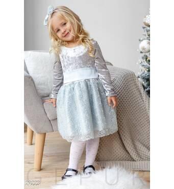 Повітряна дитяча сукня