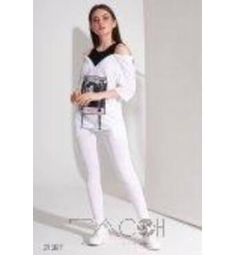 Спортивний костюм з джемпера і брюк скинни