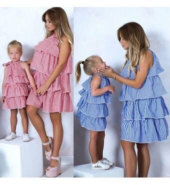 Набор Платье Арт: 0067 (синий) kll-5908875
