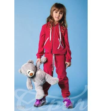Дитячий велюровий костюм