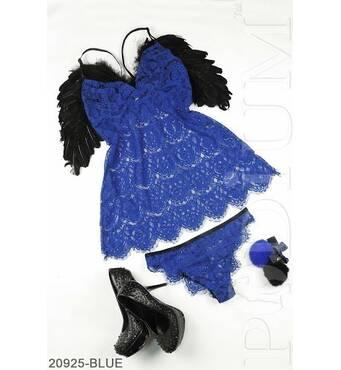 Жіночий комплект нижньої білизни Eleonora (BLUE)