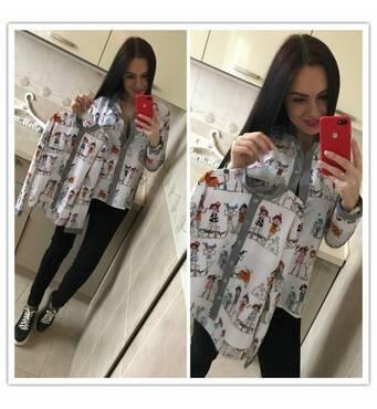 "Набор Блуза ""Кукла"" Арт.0015 (белый) kll-5908887"