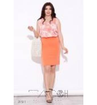 Комплект из юбки и плиссированного топа