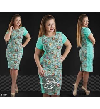 Платье - 14039 (мята)