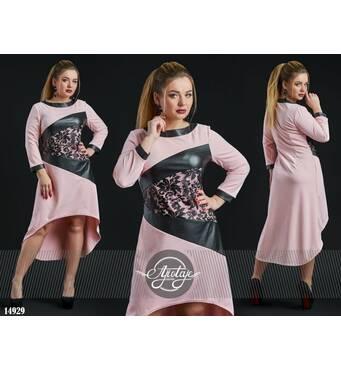 Сукня - 14929 (блідо-рожевий)