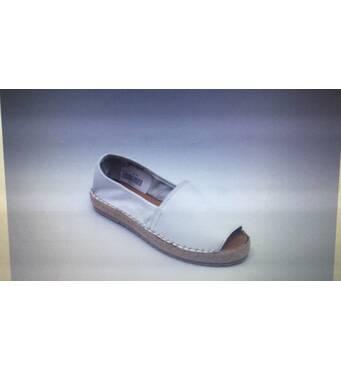 Жіночі эспадрильи з відкритою шкарпеткою