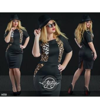 Платье - 14753 (черный)
