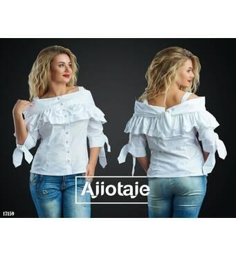 Блуза - 17159 (білий)