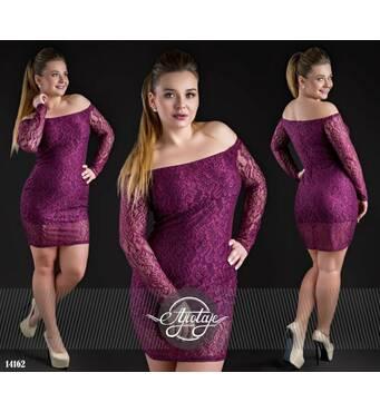 Сукня - 14162 (марсала)