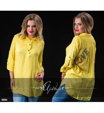 Туніка - 10504 (жовтий)
