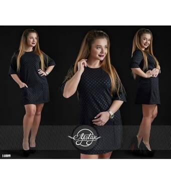 Платье - 14009 (черный)