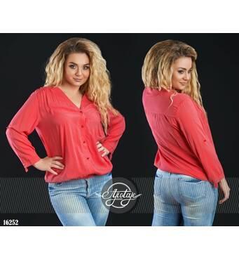 Рубашка - 16252 (коралл)