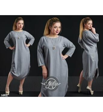 Платье - 14932 (серый)