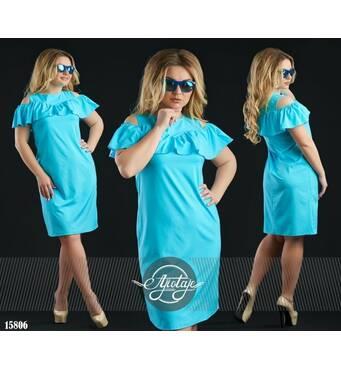 Платье - 15806 (голубой)