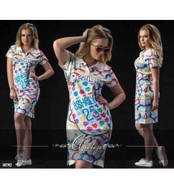 Платье - 10792 (белый)