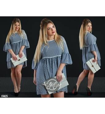 Платье - 15625 (синий)