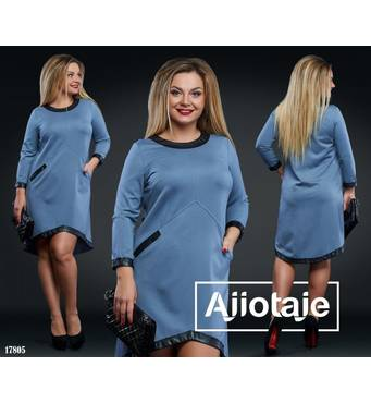 Сукня - 17805 (сірий)