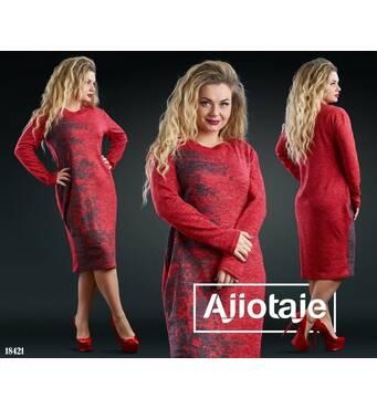 Платье - 18421 (красный)