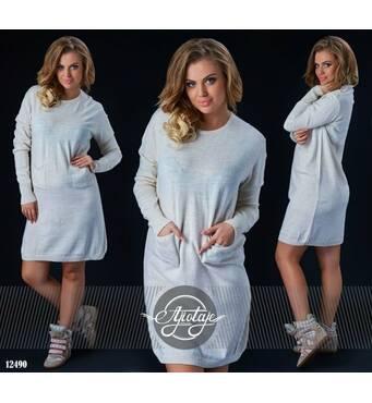 Сукня - 12490 (молоко)