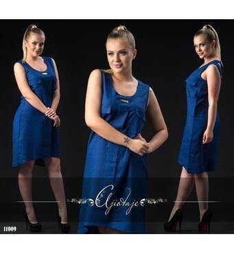 Платье - 11009 (темно-синий)