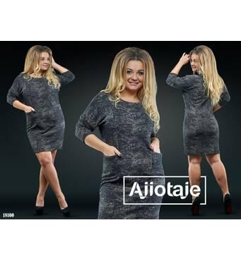 Платье - 18100 (черная основа)