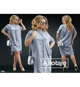 Платье - 20152 (серый)
