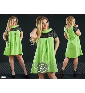 Платье - 15492 (салатовый)