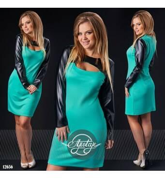 Платье - 12656 (мята)