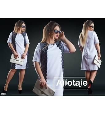 Платье - 19035 (белый)