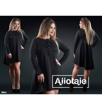 Платье - 19044 (черный)