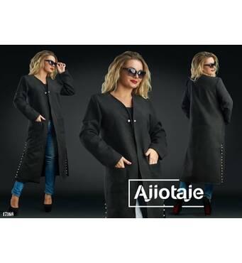 Пальто - 17168 (чорний)