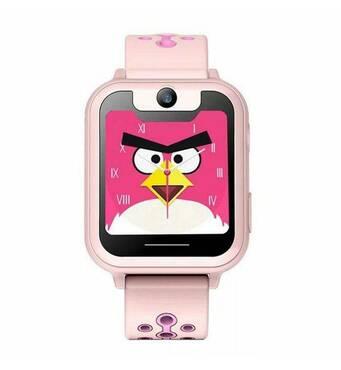 Детские Смарт часы с GPS трекером UNITA T16  с камерой 1,3 МП и фонариком розовые