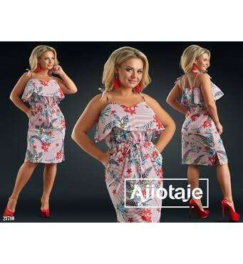 Жіноча сукня, батал р.50, 52, 54, 56 Ajiotaje XL