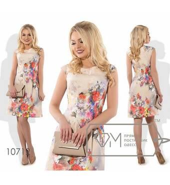 Сукня А-покроя міні жіноча, норма р. S, М, L, XL  Фабрика Моди