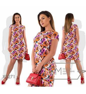 Сукня жіноча, батал р.48, 50,52,54  Фабрика Моди