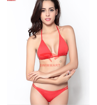 Купальник ефектний модний жіночий багато кольорів код DM058 (червоний)