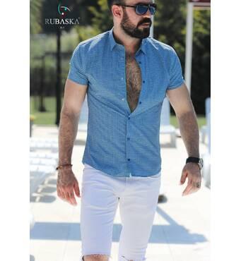 Сорочка чоловіча короткий рукав Rubaska Туреччина