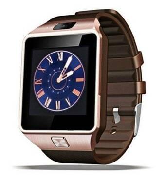 Смарт годинник Smart Watch Phone DZ09s мідні  з Sim картою! І камерою.