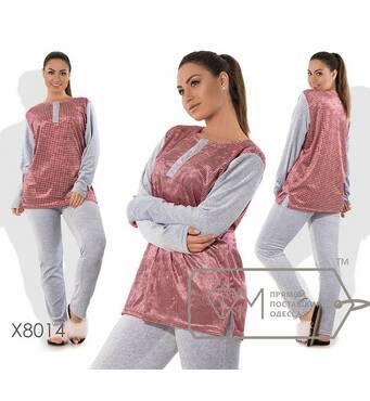 Домашній жіночий костюм, батал р.48-56  Фабрика Моди