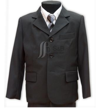 Костюм шкільний для мальчика- 3-ка (піджак брюки жилет)