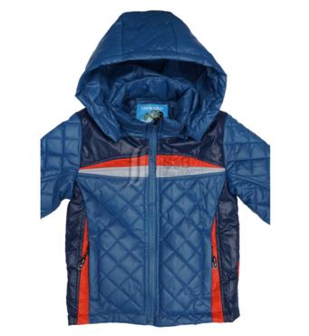Куртка весеняя для хлопчика на одинарному силіконі