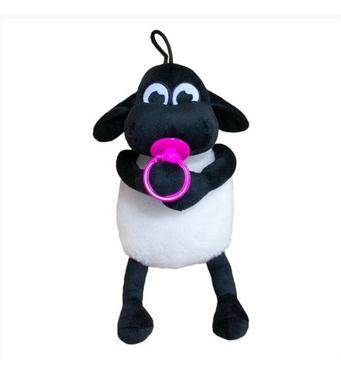 М'яка іграшка Баранчик Тимми рожева соска