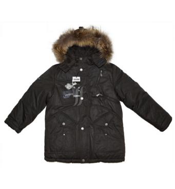 Куртка зимняя для мальчика на пуховой подстежке Bilemi