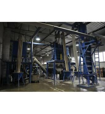 Лінія переробки плівки LDPE, HDPE