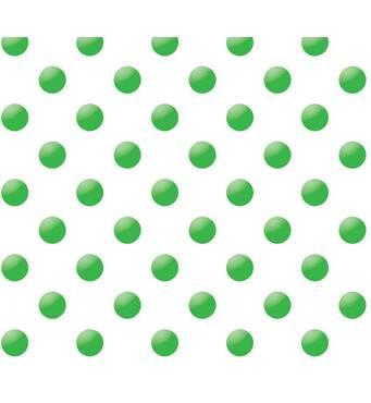 """Подарунковий папір для упаковки """"Горох зелений"""", 5 шт/уп"""