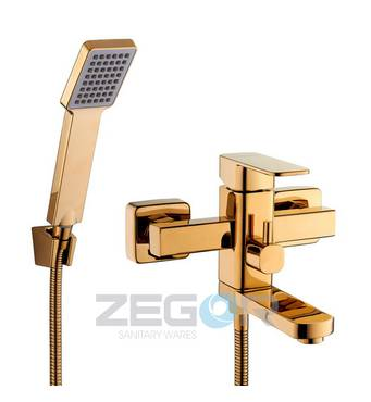 Смеситель ванна LEB3-G золото купить в розницу
