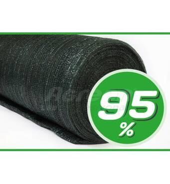Декоративная сетка 95% (3х50) светло-зелёная