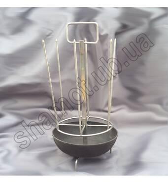 Шампурница с чугунной сковородой к тандыру Батыр-Хан