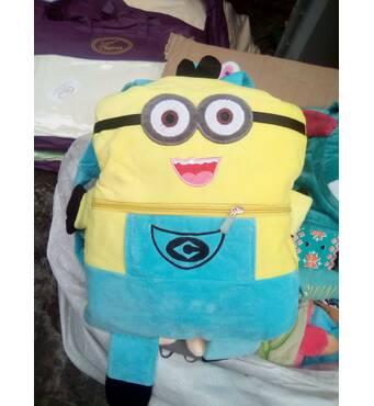 Дитячий плед  рюкзак